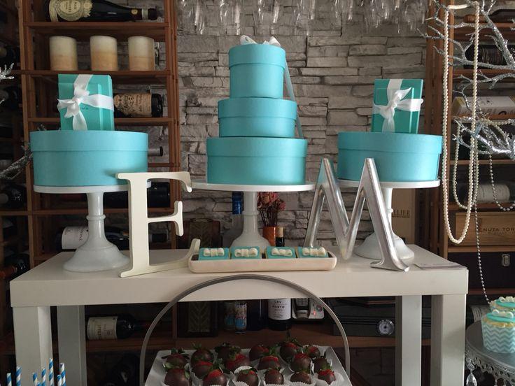 Tiffany blue sweet candy bar