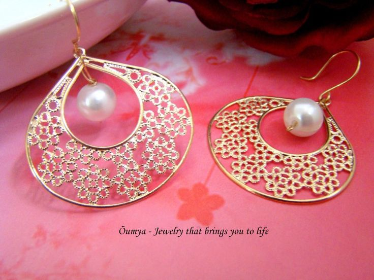 This beautiful pearl earrings by Oumya Jewels is surely going to catch your eyes. Shop it from TheAmalaanStore.com