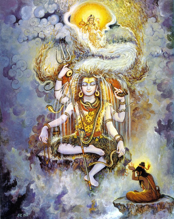 With his matted hair, trident, third eye, tiger skin loin cloth, did I mention TRIDENT, snake around his shoulders... Shiva appears different, fierce, more edgy and unpredictable from many other gods and goddesses introduced to…