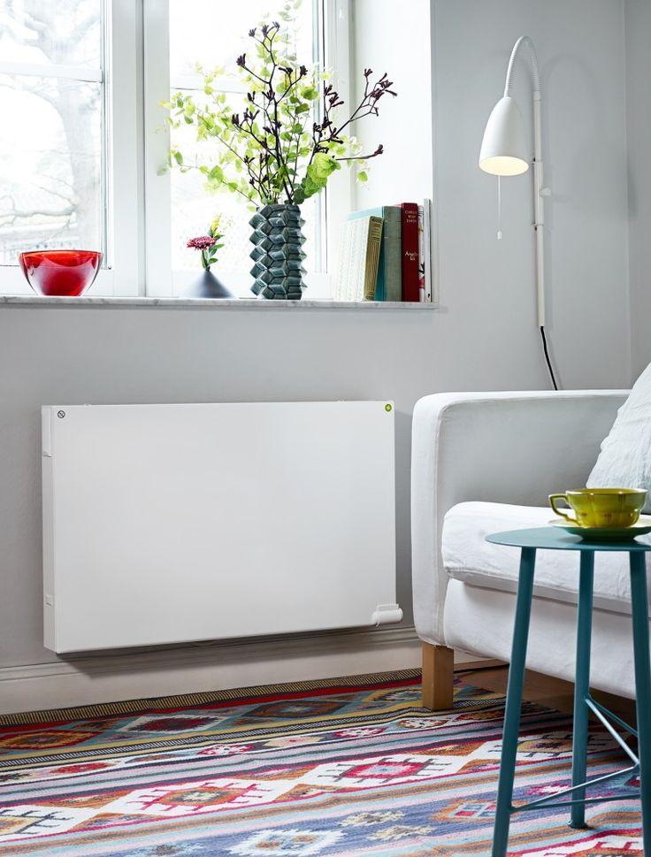 Energiansäästön lisäksi uudet sähköpatterit lisäävät monesti myös asumismukavuutta, kuten seuraava esimerkki osoittaa.