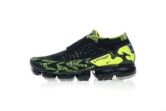 new product 41ded 09ad0 Acronym X Nike Air Vapormax Moc 2 Black Volt Aq0996-007 Shoe