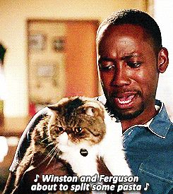 Best Winston GIFs / new girl