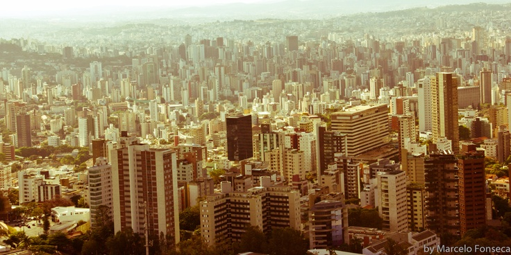 Philips #pinyourcity contest: Living in Belo Horizonte is ... notice how this city seems to be huge, but it is not!