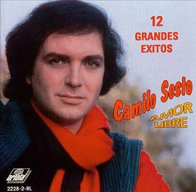 Carátula Frontal de Amor Libre: 12 Grandes Exitos - Camilo Sesto