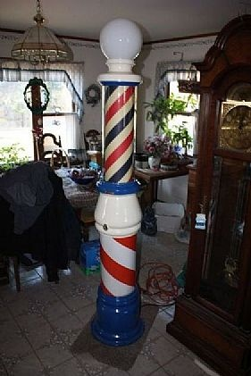 Barber Shop Irvine : 1000+ images about Barber Pole on Pinterest eBay, Vintage and ...