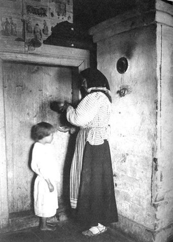 Russian witch-healer, 1914.