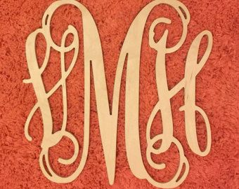 letter a art 1000 ideas about wooden monogram letters on 6433