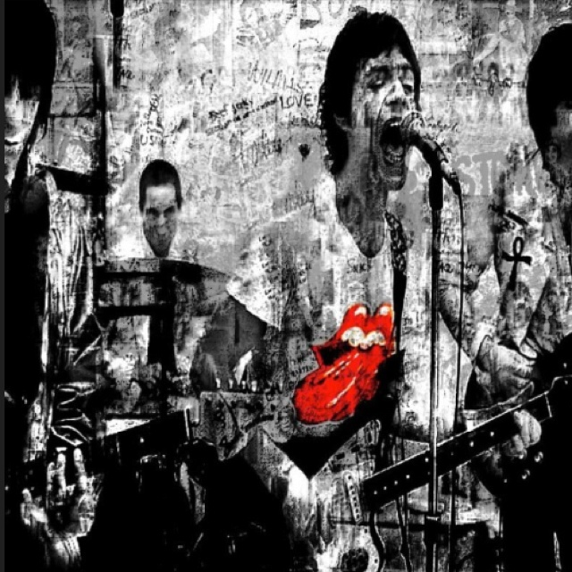 The Rolling Stones by Gerben
