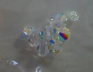 Swarovski, 4 x 6mm, Crystal AB, 26pcs