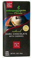 Endangered Species Chocolate Natural Dark Chocolate with Cherries Gluten Free -- 3 oz - http://bestchocolateshop.com/endangered-species-chocolate-natural-dark-chocolate-with-cherries-gluten-free-3-oz/