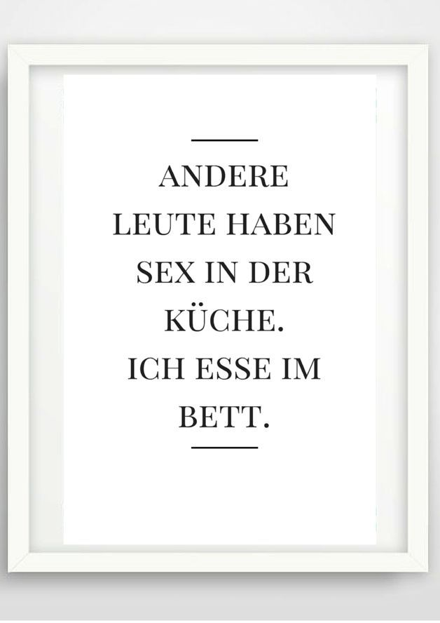 Typo Poster Essen, Wohndeko / artprint black and white, wall decoration made by Pap-Seligkeiten via DaWanda.com
