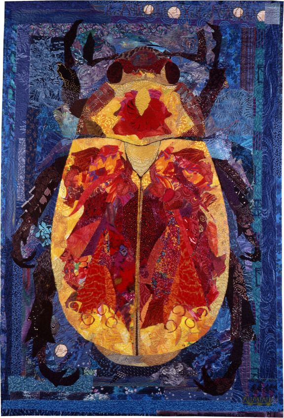 Fire Beetle by Susan Carlson