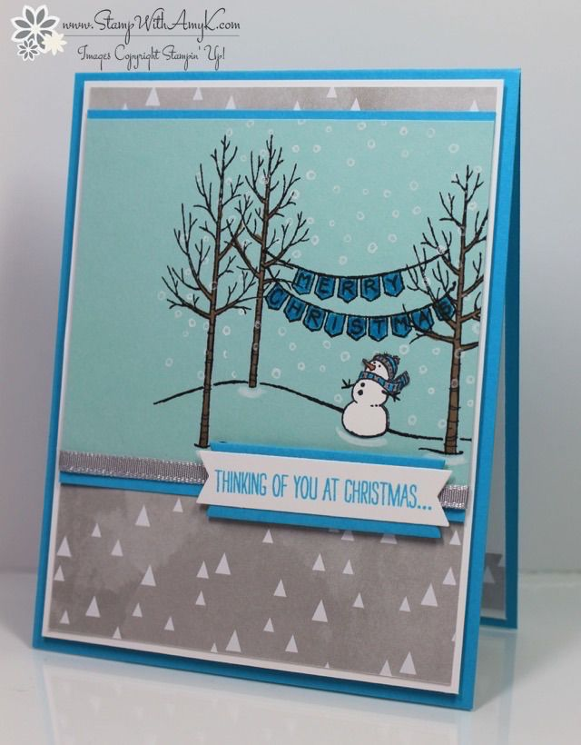 1000 images about stampin up white christmas on pinterest white