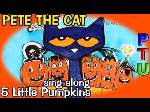 PETE the CAT Five Little Pumpkins Book | SCHOOL SHOES reading out loud story…