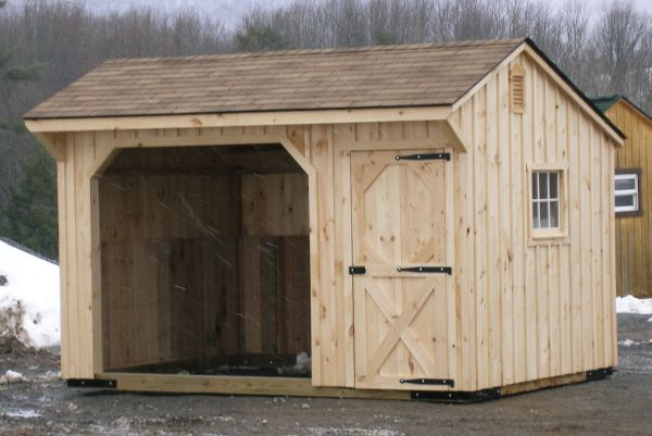 run in sheds, run in shed, tack room, storage