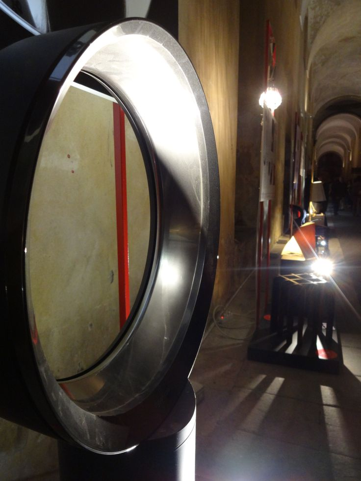 Dyson Cool AM06. Mostra Eccellenze Illuminate, Accademia di Brera