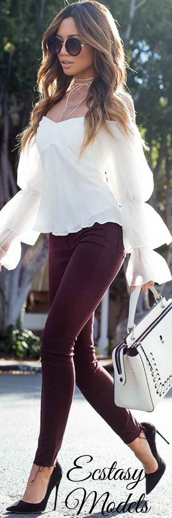 Fall Denim // Fashion Look by Jessi Malay