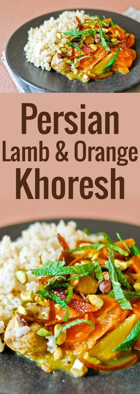 Lamb, Stew and Candied orange peel on Pinterest