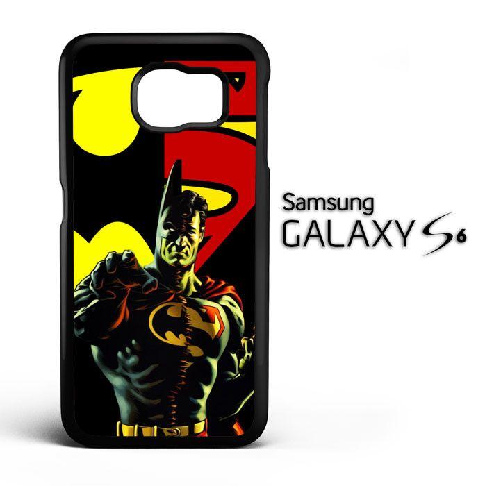 superman vs batman C0404 Samsung Galaxy S6 Case