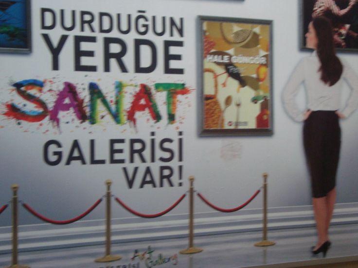 Istanbul nodern art museum