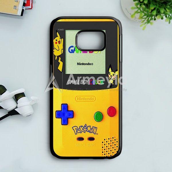 Yellow Gameboy Pokemon Samsung Galaxy S7 Case | armeyla.com