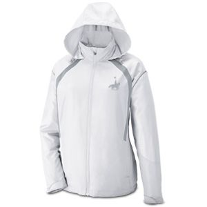 $79.99 Protect yourself from the elements with Women's Rider Nylon Trim Jacket: Perfect for runners!