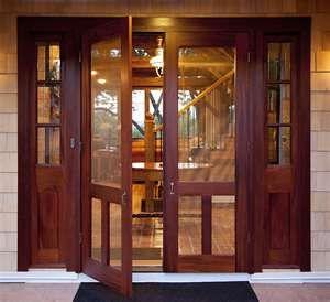 double screen doors