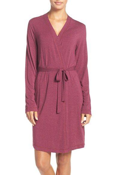 DKNY 'City Essentials' Short Robe | Nordstrom
