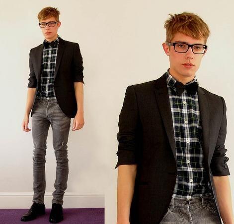 blazer e camisa xadrez - Pesquisa Google