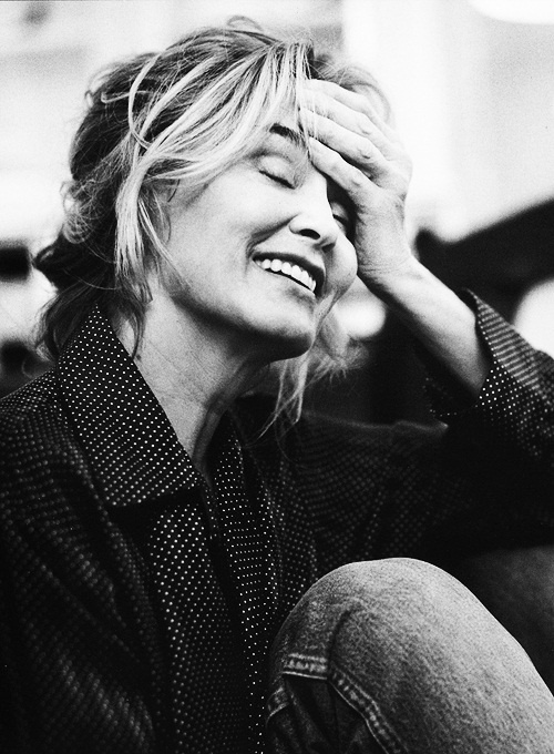 Lovely portrait of Jessica Lange.