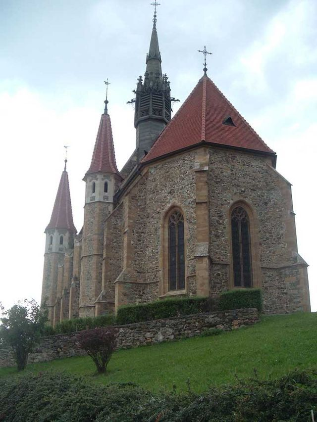 Máriafalva gótikus temploma
