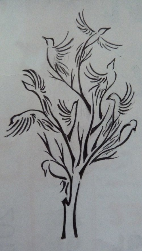 tree bird tattoo designs - Google Search