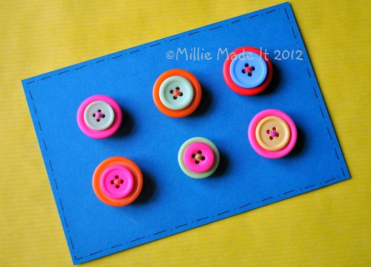 Button magnets    www.facebook.com/milliemadeit