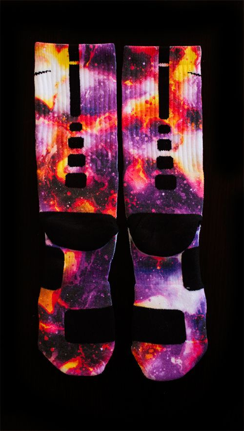 custom nike elite socks planet raygun