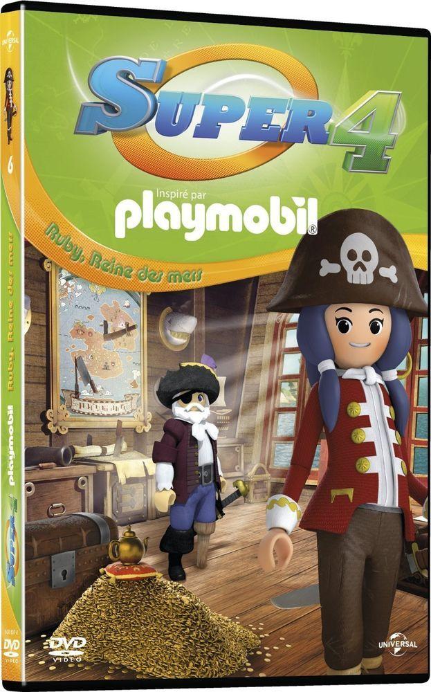 Super 4 (inspiré par Playmobil) - 6 - Ruby, Reine des mers (2015) - DVD  NEUF