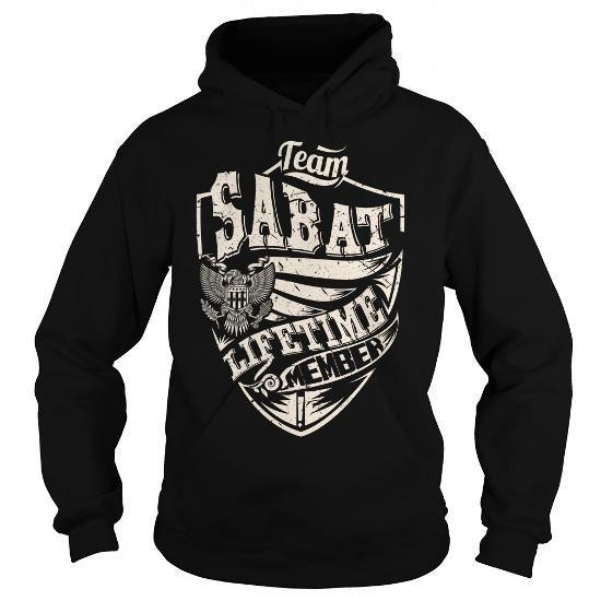 Cool Last Name, Surname Tshirts - Team SABAT Lifetime Member Eagle Shirts & Tees