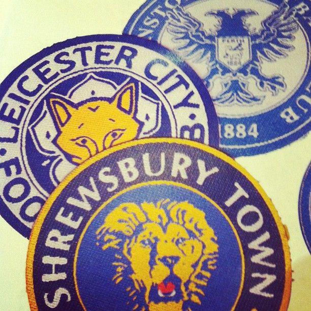 Football Badges - Shrewsbury Town, Leicester City, St Johnstone by Franklins #soccer