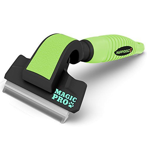 The Best Deshedding Tool To Easily Remove Shed Dog Hair - 60% DISCOUNT Today -The Magic Pro Dog Deshedding Tool Reduces Shedding By 95% -Unique Shedding Blade is Gentle On Your Dog's Skin For Both Thin & Thick Coats -10 Year Money Back Guarantee HappyDogz http://www.amazon.com/dp/B00GSEVUQA/ref=cm_sw_r_pi_dp_CLCEub1J0Y8QJ