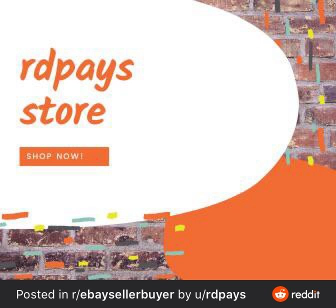 Pin On Rdpays Ebay Reselling