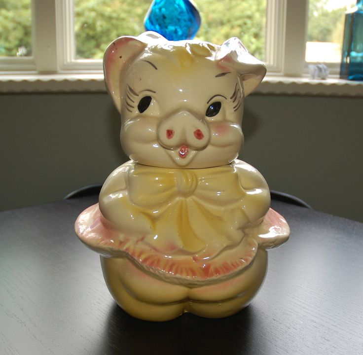 17 Best Images About Piggy Cookie Jars On Pinterest