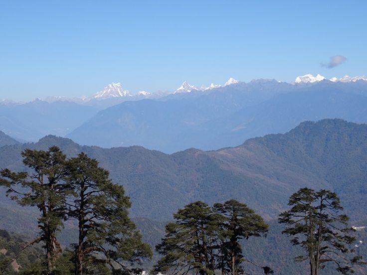 Himalaya chain. Bhutan.