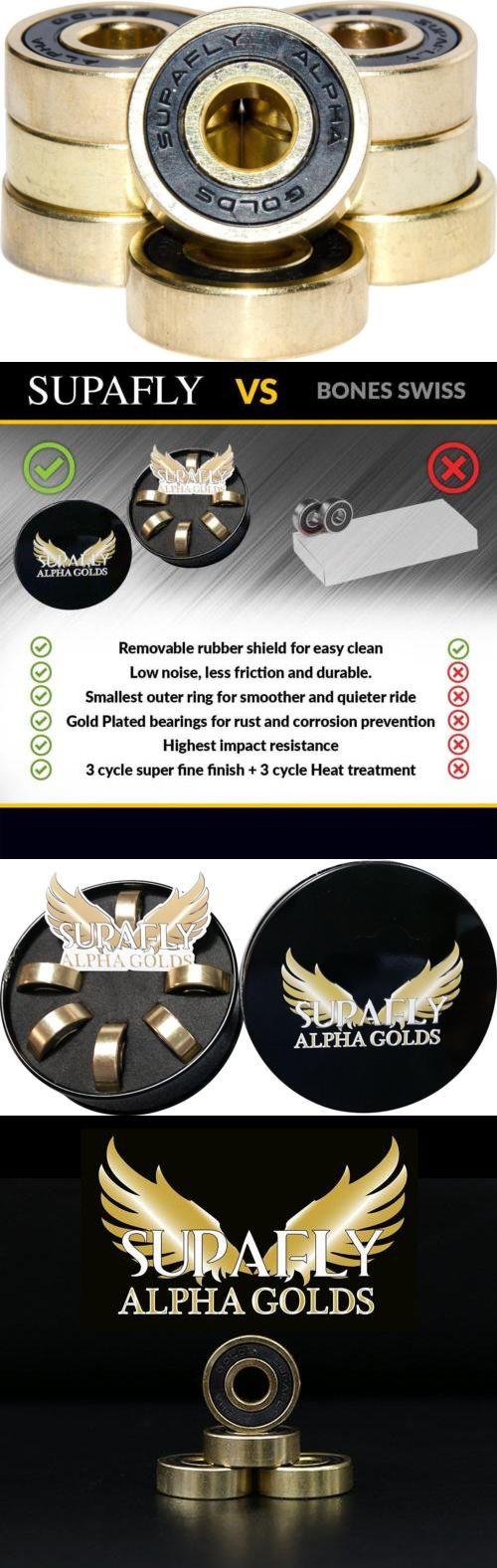 Bearings 36624: Alpha Golds Best Roller Aggressive Skate Ball Bearings Abec 9 For Skateboard... -> BUY IT NOW ONLY: $54.17 on eBay!