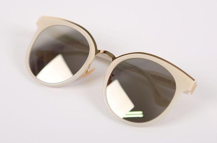 """Limelight Korean Eyewear Fashionable Wearable Sunglasses """"Diane C IV"""" Ivory   eBay"""