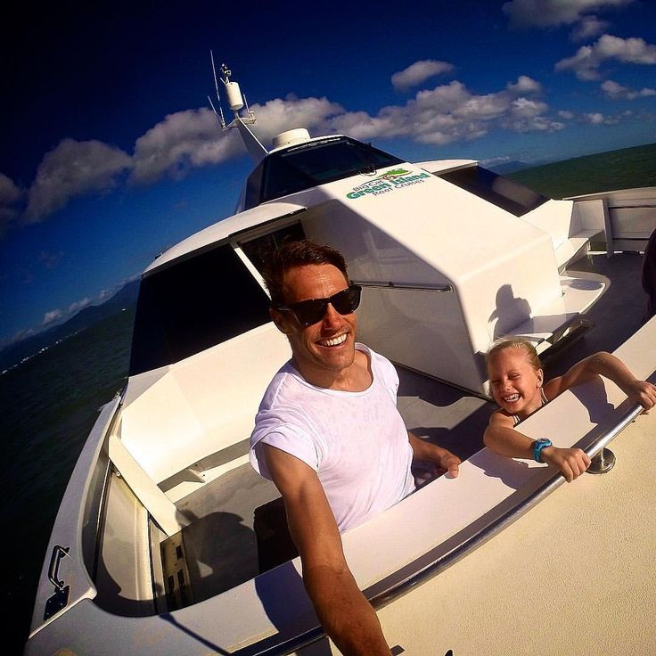 "AWOL Family on Instagram: ""Crazy boat  ride from #Cairns to Green Island - Kids paradise  