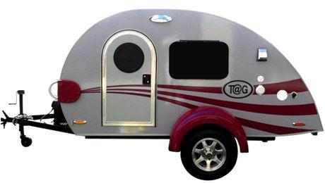 TaG Max - Teardrop Camper/Trailer - Little Guy.  I did get one!