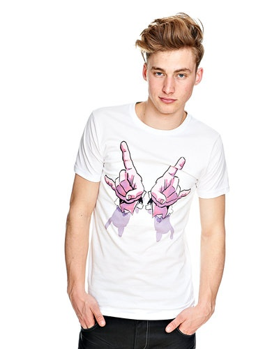 Outfitters Nation T-skjorte  (White) - Smartguy.no - $90nok
