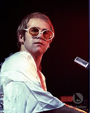 Elton John looked like this when we saw him in late 70's.