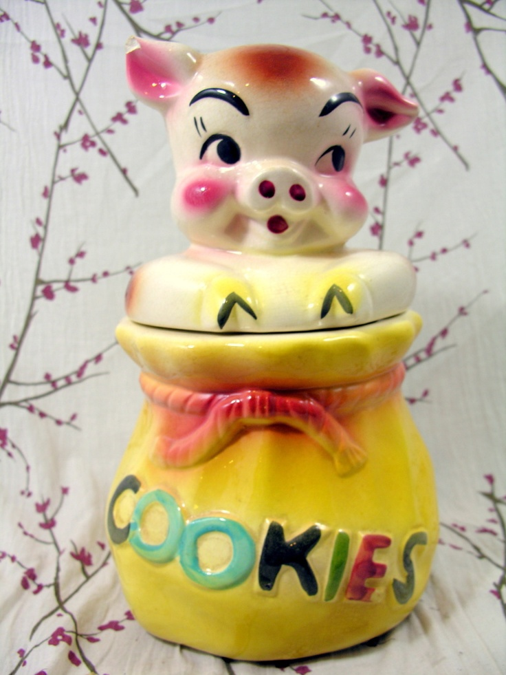 218 Best Images About Vintage Cookie Jars On Pinterest