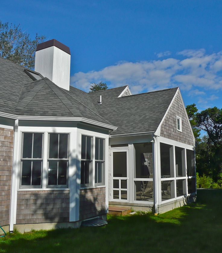 Addition And Whole House Renovation To Cape Cod House In Chatham, MA.  Architectural Design By Joseph B Lanza, Duxbury, MA. Part 73