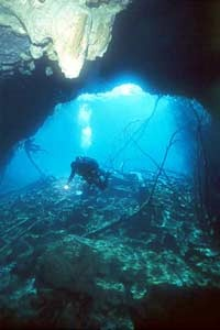 cenote cavern diving mexico
